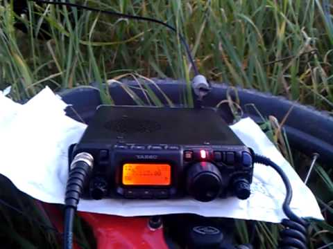 M0TAZ qrp portable Hornchurch country park.