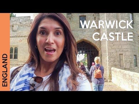 Warwick Castle - UK travel - We slept on the castle grounds!
