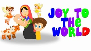 Joy To The World The Lord Has Come | Christmas Carol For Tiny Tots With Tim & Tia