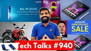 Tech Talks #940 - X2 Pro Launch, Samsung Anniversary Sale, Toyota Robot, Revolt RV400, Redmi 8