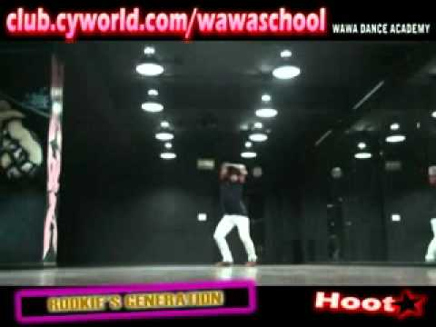 Girls Generation Snsd Hoot Dance Mirrored From Wawa School video