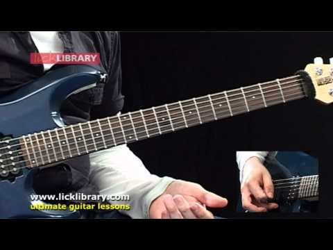Joe Satriani - Circles Guitar Lesson With Andy James Licklibrary video