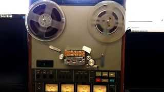 Problem with Reel to Reel recorder/player, help needed: plays and pauses continuously