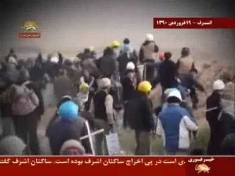 Scenes of killings and bloodshed by Iraqi Forces of Nuri al-Maliki in Camp Ashraf, April 8, 2011