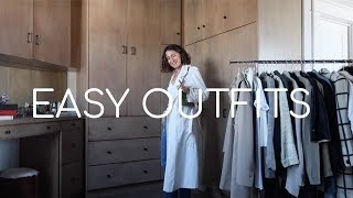 EASY OUTFITS | What To Wear