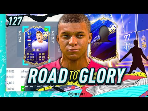 FIFA 20 ROAD TO GLORY #126 - FINALLY…TOTY IN A PACK!!