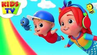 Swing Song | Junior Squad Cartoons | Videos For Children | Kindergarten Rhymes - Kids TV