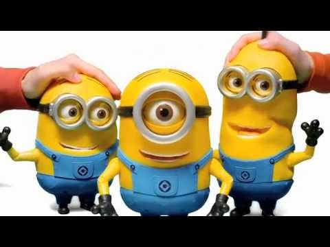 Despicable Me 2 Talking Figures