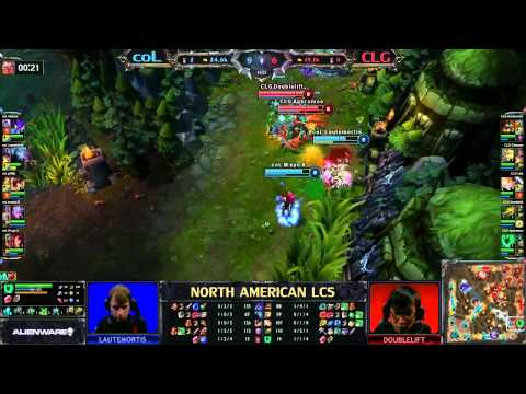 coL vs CLG - LCS 2013 NA Spring W8D1 (English)