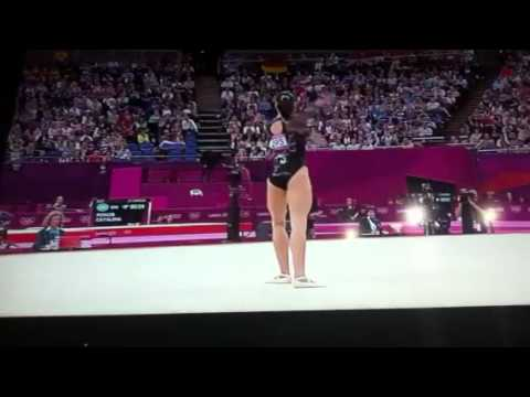 Catalina Ponor- Finale FX- Londra 2012