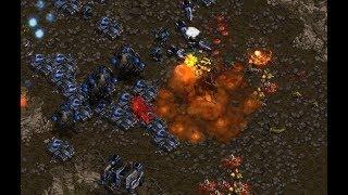 Fantasy (T) v HyuK (Z) on Bloody Ridge - StarCraft  - Brood War REMASTERED 2019