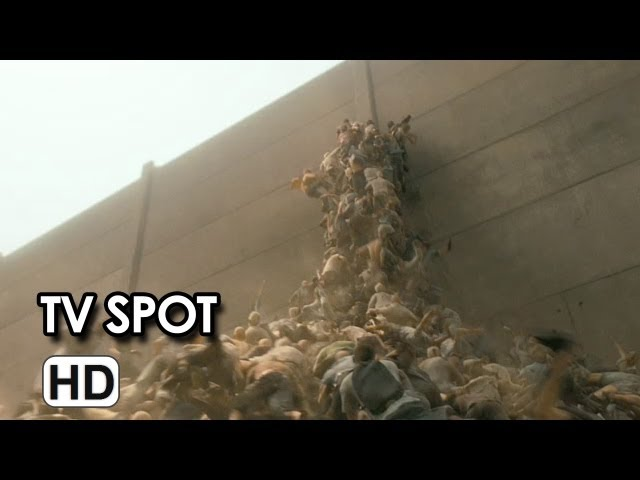 World War Z 'More You Know' TV Spot 2013 - Brad Pitt, Eric West, Matthew Fox