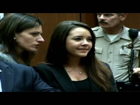 'Bling ring' suspect faces the music