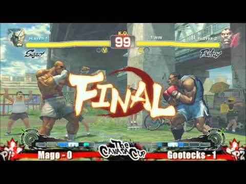Mago vs Gootecks Canada Cup 2010 Feature match #3 SSF4 Singles