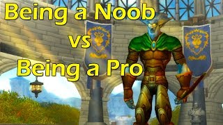 Being a Noob vs Being a Pro in WoW by Wowcrendor (WoW Machinima)