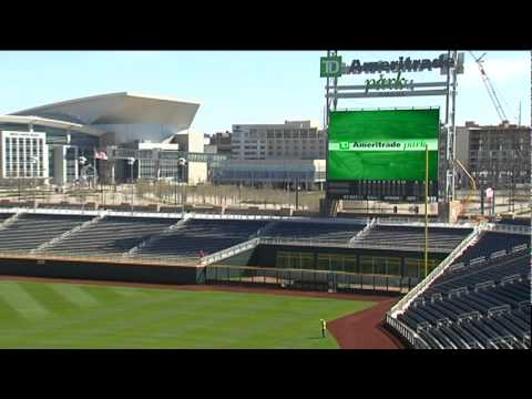TD Ameritrade Park Tour... New Home of the CWS - YouTube