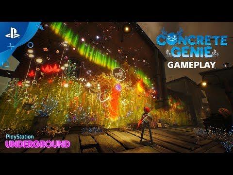Concrete Genie - Gameplay Walkthrough   PlayStation Underground