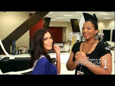 Miss New York USA 2012, Johanna Sambucini with Rain Cosmetics