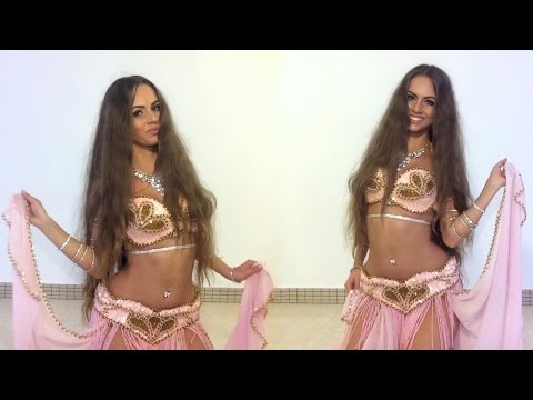 Isabella Belly Dance Drum Solo HD
