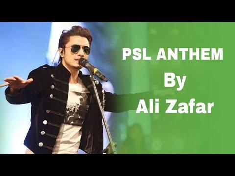 HBL PSL Official Anthem Video By Ali Zafar I PSL 2016   YouTube thumbnail