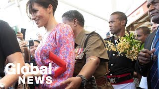 Meghan Markle rushed out of market in Fiji over security concerns