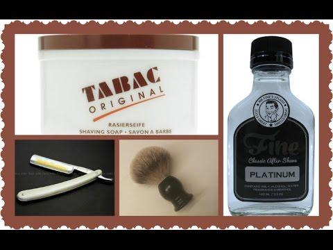 TABAC, Gold Dollar 209, Frank Shaving, Fine Platinum