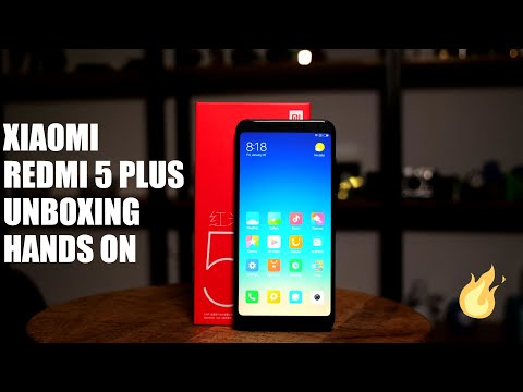 Xiaomi Redmi 5 Plus Unboxing 18:9 Display First Hands On