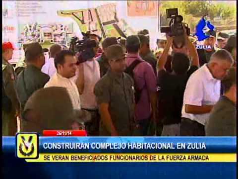 Autoridades del Zulia supervisan terreno de complejo habitacional para funcionarios de FANB