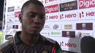 Man of the Match Interview - Evin Lewis