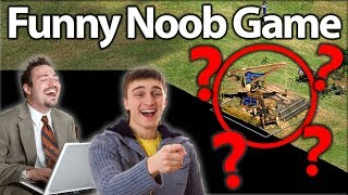 "Funny AoE2 Noob Game! ""AMAZING LEARN"""