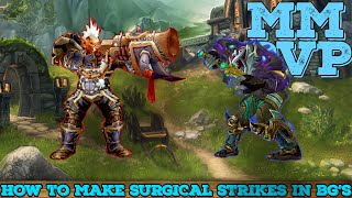 MM Hunter PvP ►HOW TO MAKE SURGICAL STRIKES IN TOUGH BG'S◄ Stream Highlights
