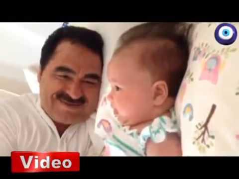 İbrahim Tatlıses ağlayan 4 aylık kızı Elif Ada'yı böyle susturdu