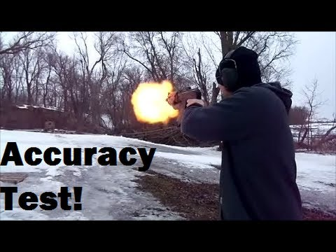 PAP M92 Pistol Accuracy Test!