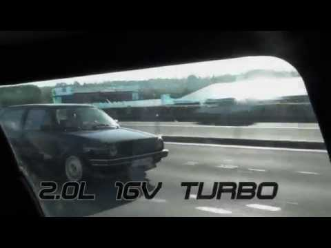 Golf MK2 AWD 800HP 16V Turbo 10,006s @ 230kmh Bobas streetcar