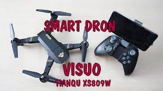 SMART DRONE VISUO (TIANQU XS809W) chytrý dron│Aliexpress česky│Unboxing - TEST - návod -TRIKY - CZ