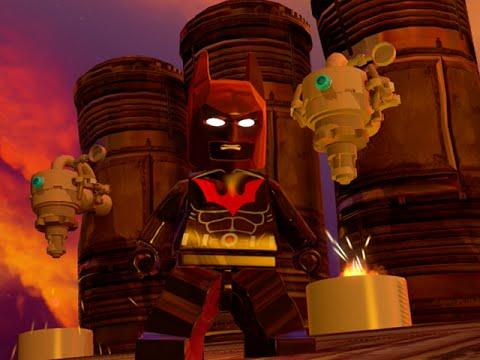 LEGO BATMAN 3 - Batman Beyond Terry Mcginnis FREE ROAM GAMEPLAY