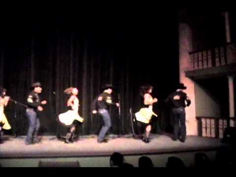 "COREOGRAFIA – ESPUELAS DORADAS, ""ANTOLOGIA DE LA MUSICA COUNTRY"" DURANGO DG."