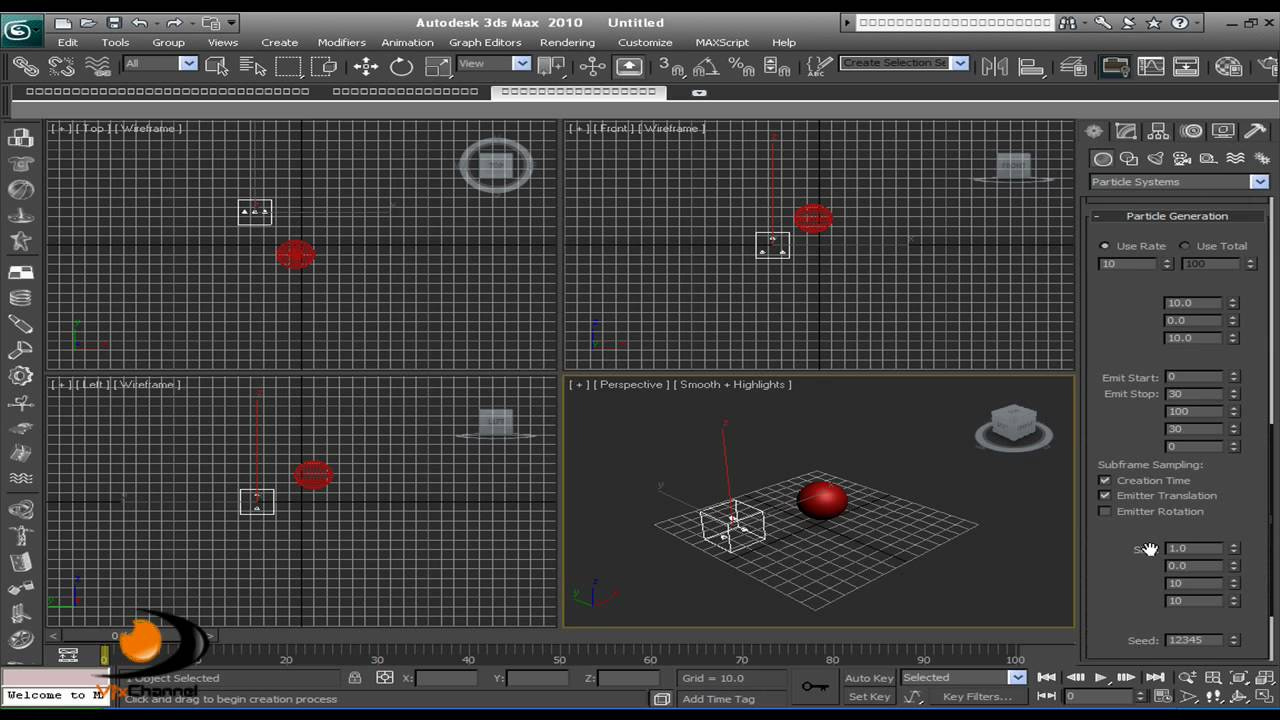3d max tutorial object explosion youtube for Tutorial 3d max