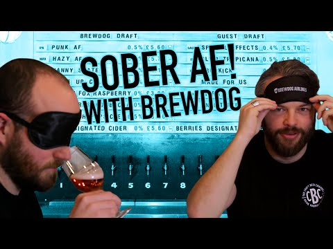Can Brewdog's alcohol free beers pass our blind taste test? | The Craft Beer Channel #AD
