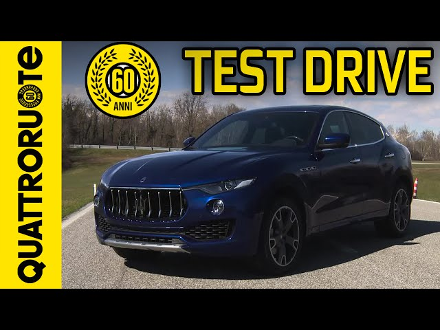 Maserati Levante 3.0 V6 Exclusive Test Drive - Premiere ...