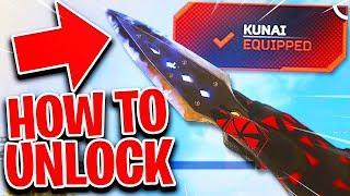"How To Unlock SECRET ""HEIRLOOM KNIFE"" Apex Legends! (Wraith Heirloom Knife Gameplay Apex Legends)"