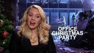"Office Christmas Party: Kate McKinnon ""Mary"" & Vanessa Bayer ""Allison"" Interview"