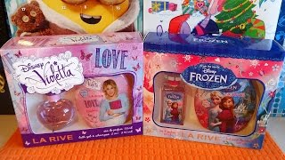 Disney Frozen Elsa & Anna and Violetta Cosmetic Gift Set for Little Girl