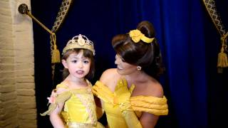 Rachel sings for Princess Belle