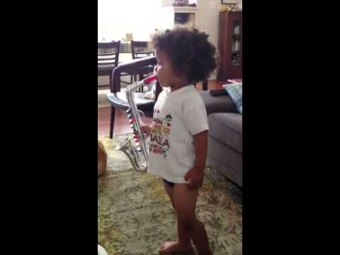 Desi Plays The Sax. video