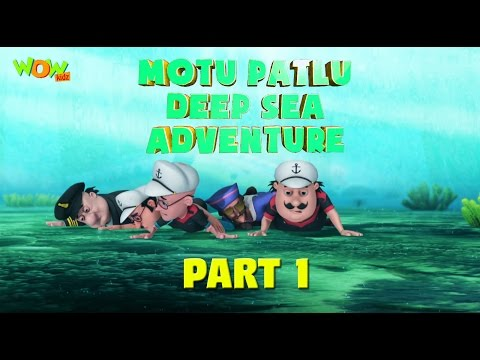 Motu Patlu Deep Sea Adventure Part 01- Movie| Movie Mania - 1 Movie Everyday | Wowkidz thumbnail