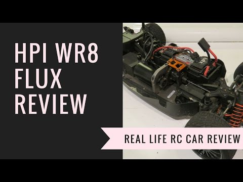 HPI WR8 Flux Review - Real Life RC Car Review - Driftomaniacs