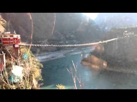 Kullu Manali Beas River Bridge without Pillars