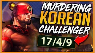 METAPHOR VS. KOREAN RANK 1 GODS (INSANE LEESIN OUTPLAYS) - League of Legends