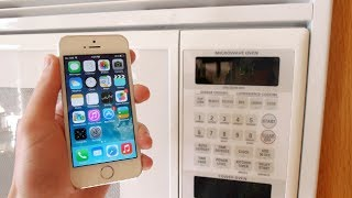 Cost your apple iphone 5S within 3 Mere seconds! (Microwave)